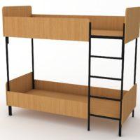 двоярусне ліжко для дорослих
