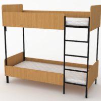 2х ярусне ліжко з матрасом
