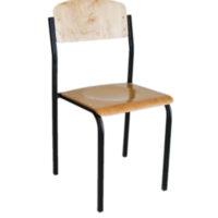 ергономічний лакований стілець