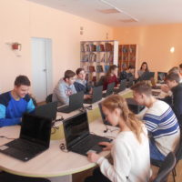 медіатека в школі - клас інформатики