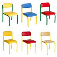 металокаркасні стільці для дітей