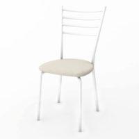 білий стілець в столову