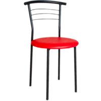 варіативні стільці з сидінням різного кольору