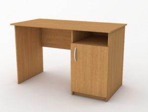 стіл з полицею і міні-тумбою