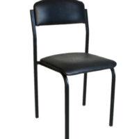 прямий стілець зі штучної шкіри