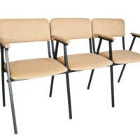 стільці з підлокітниками - тріо