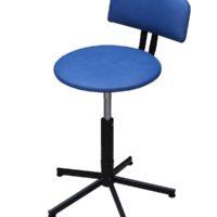 регульований стілець з дермантину