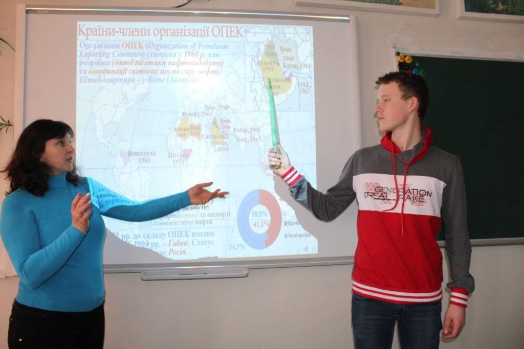 інтерактивний урок географії