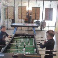 настільний футбол для учнів