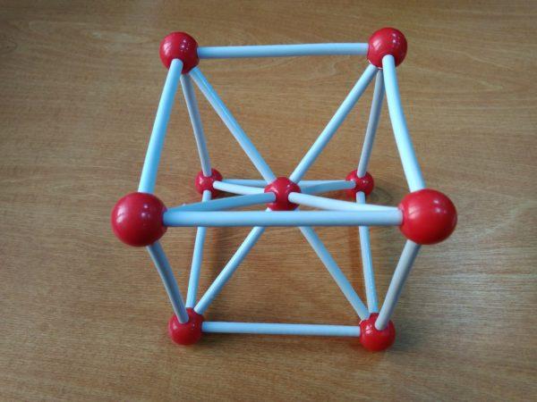 железо - решетка кристаллов