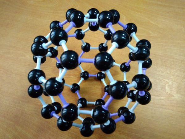 кристаллическая решетка фуллерен С60