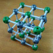 кристалічна гратка хлориду натрію