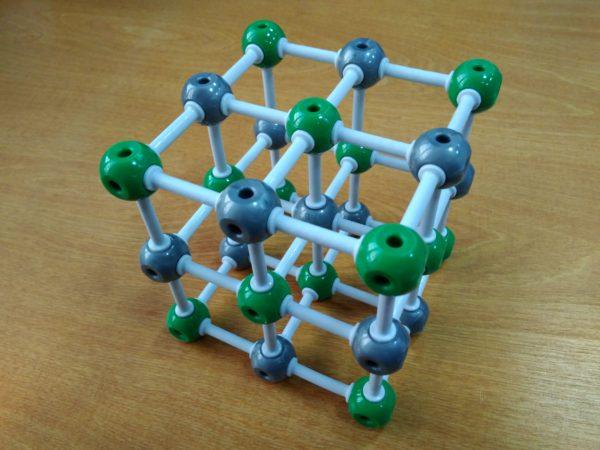 кристаллическая решетка хлорида натрия