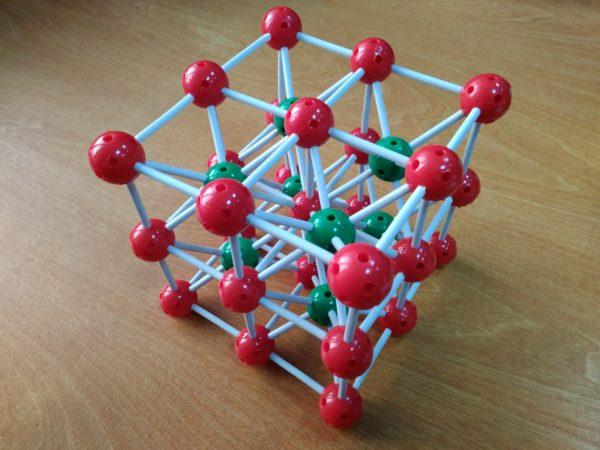 кристаллическая решетка хлорида цезия