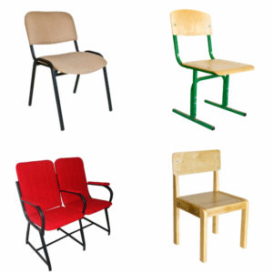 стільці для навчальних закладів