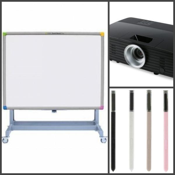 економна інтерактивна дошка з проектором
