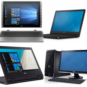 Ноутбуки, планшети та ПК