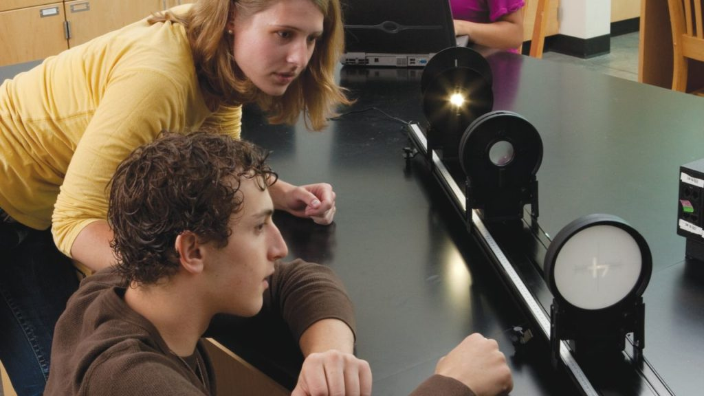 оптична система на фізику