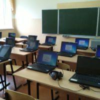 ноутбуки в учебном классе