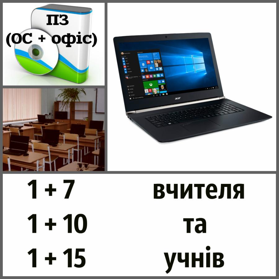 набори для комп'ютерного класу